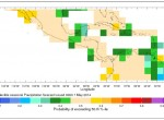 seasonal precip forecast IRI carib 2014