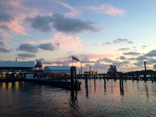 Grand Isle, La., marina.