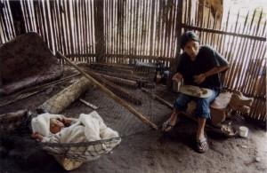 A woman and child in Ecuadorian Amazon. Photo: Spencer Stoner