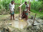 well installation in Bangladesh