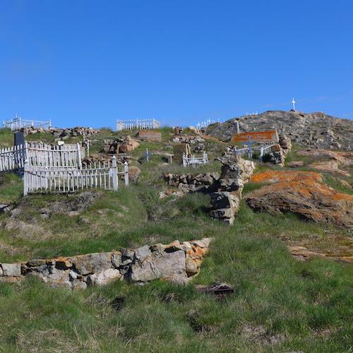Upernavik graveyard (Photo M. Turrin)