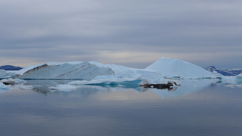 When out on the water icebergs fill your vision in every direction. (Photo M. Turrin)