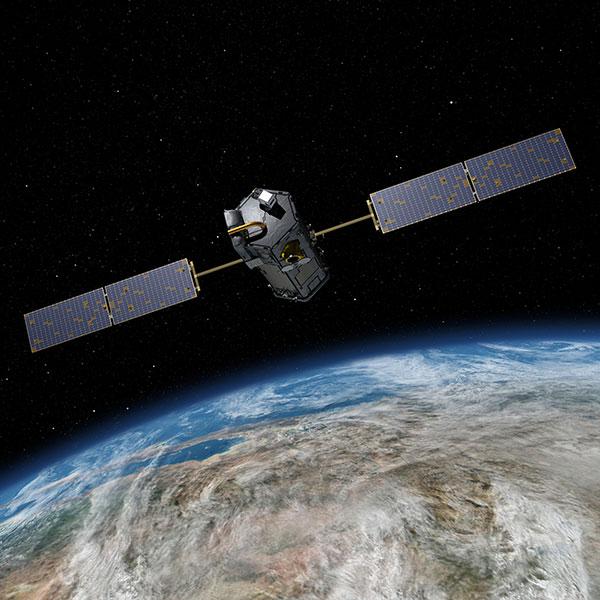 OCO-2. Photo: NASA/JPL-Caltech