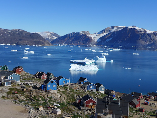 Overlooking the small village of Kullorsuaq. (Photo M. Turrin)