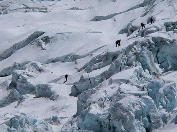 Khumbu Icefall, Everest, Photo: Mahatma4711