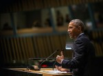 President Obama addresses the 2014 UN Climate Summit.