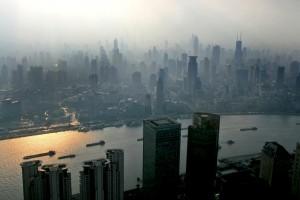 Shanghai smog. Photo: AlexNeedham
