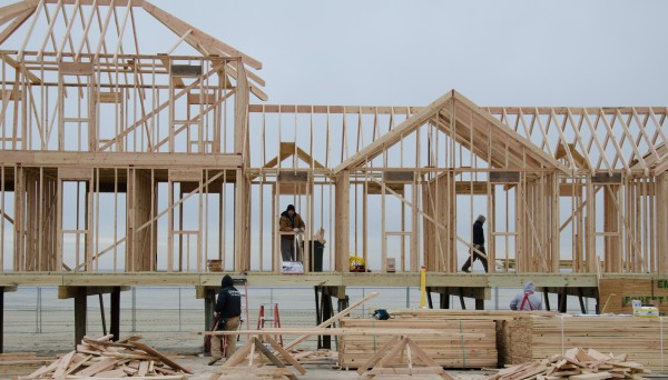 Rebuilding in Sea Bright, NJ Photo: FEMA