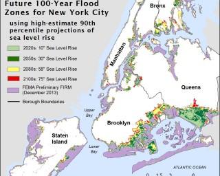 NPCC's updated flood risk map