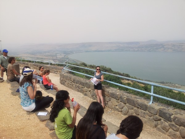 ISRAELstudents at the Golan Heights 3