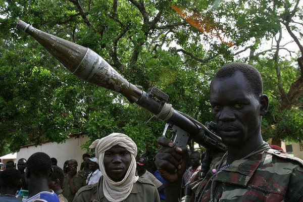 A rebel soldier in the Central African Republic. Photo: Pierre Holtz, UNICEF CAR, hdptcar/flickr