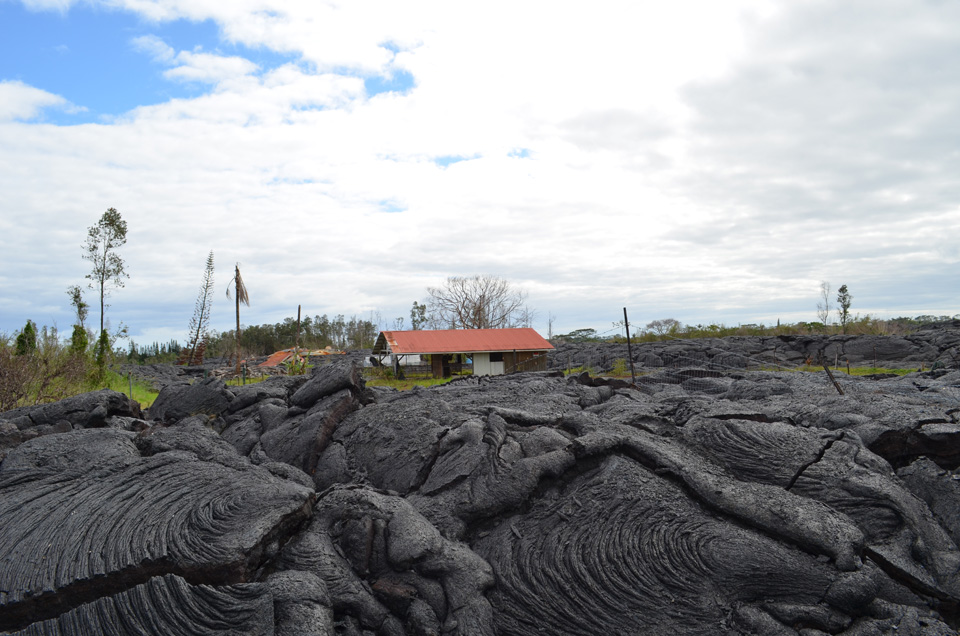 photo essay land lava people