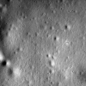 MESSENGER's last image of Mercury. (NASA)