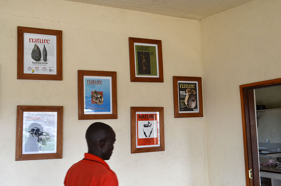 Most research in the remote region is based out of the Turkana Basin Institute, which provides facilities for scientists. A wall at the institute documents the stream of major discoveries coming out of here.