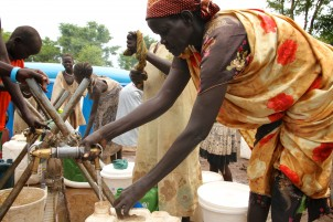 OXFAM provides drinking water in East Africa