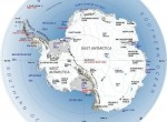 Map of Antarctica, from NASA.