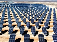 Photovoltaic array at Nellis Air Force Base, Nevada