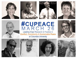 The 2015 Sustaining Peace Conference was held in March at Columbia.