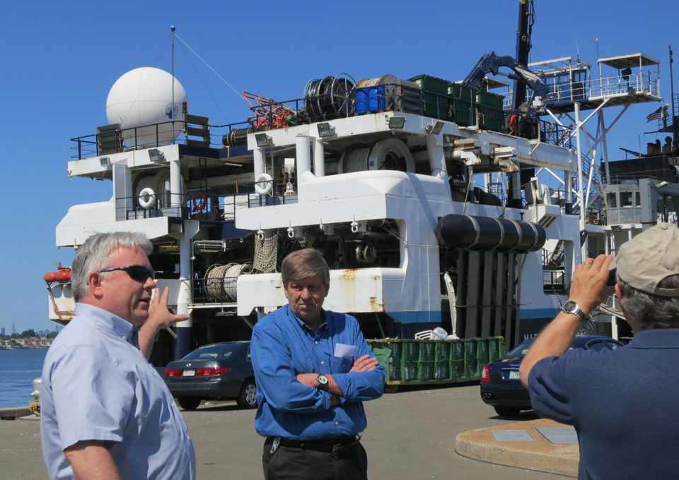 Touring the R/V Marcus G. Langseth