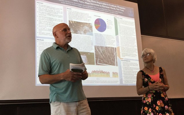"""Learn more about the <a href=""""http://www.ldeo.columbia.edu/SSFRP/"""">Secondary School Field Research Program</a>, led by Lamont's Bob Newton and teacher Susan Vincent, at the Lamont website. Field work photos courtesy of John Bjornton."""