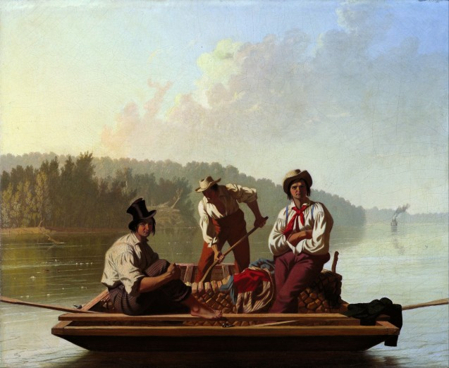 George_Caleb_Bingham_-_Boatmen_on_the_Missouri_-_Google_Art_Project