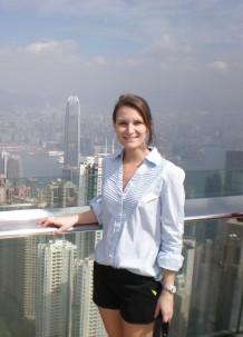 MS in Sustainability Management alum Tara Helms ('15)