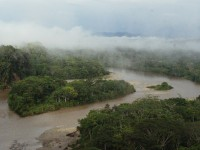Fog in the Amazon River Basin. Dallas Krentzler/CC-BY-2.0