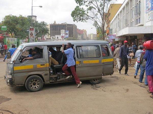 Map & App Help People Track Transit in Nairobi
