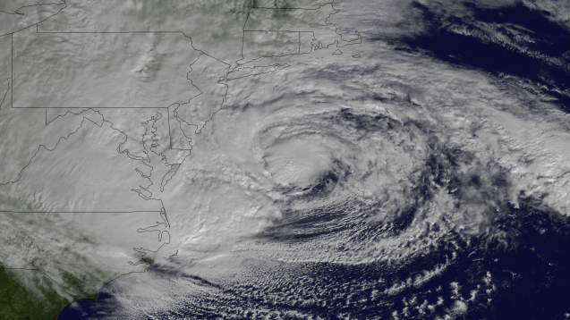 Hurricane Sandy. Photo: NOAA