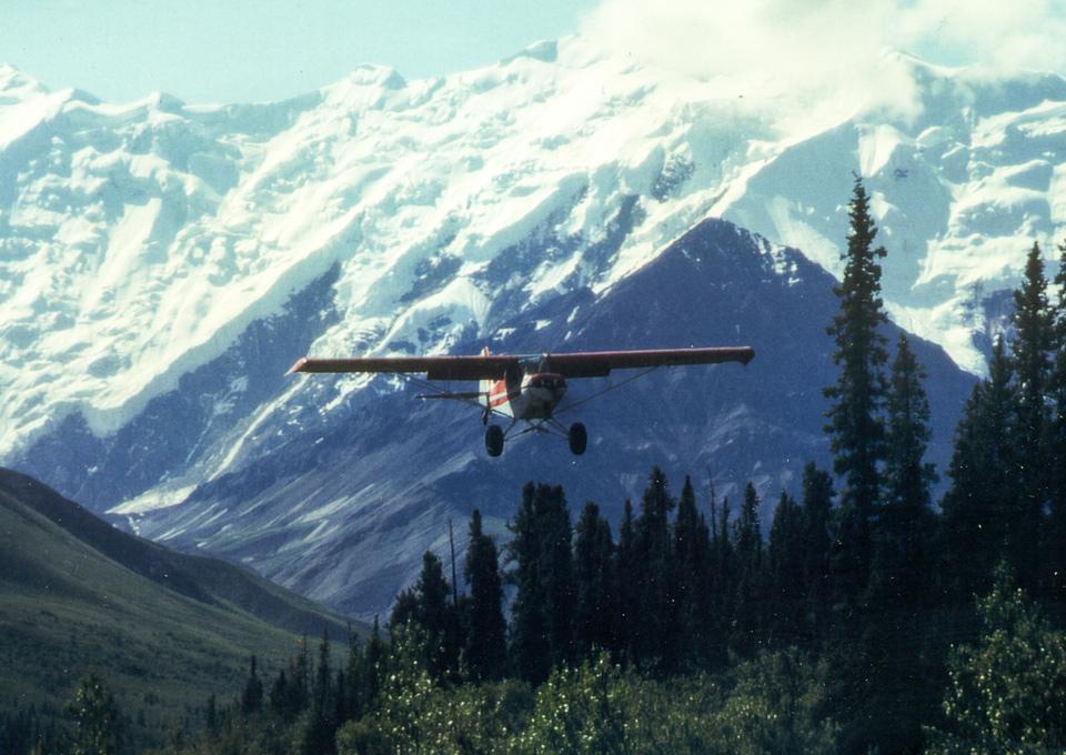 Arriving in Alaska