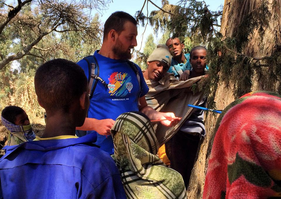 Park Williams in Ethiopia