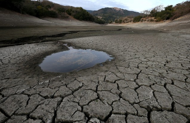Park Williams recent study looked at what percentage of the drought in California has been caused by human-induced climate change. Photo: calfire.ca.gov