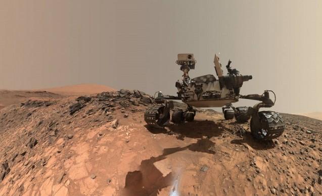 NASA's Curiosity Mars rover. Photo: NASA