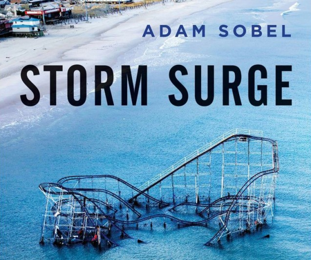 Cover of the Adam Sobel's book Storm Surge about Superstorm Sandy