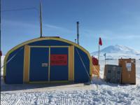 ROSETTA's temporary home in Antarctica. (credit Matt Siegfried)