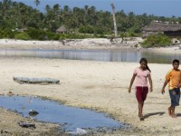 Kiribati faces the prospect of eventual inundation from sea level rise. Photo: Eskinder Debebe/UN