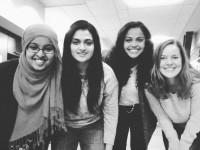 Rija Rasul, Vidya Nair, Kadra Rayale and Laura Maxwell.