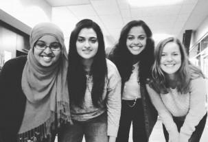 Kadra Rayale, Rija Rasul, Vidya Nair and Laura Maxwell.