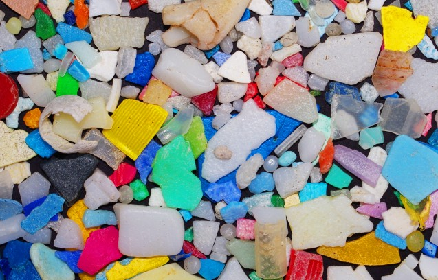 Microplastics. Photo: Wolfram Burner
