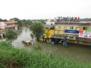 Flooding in Chennai, India