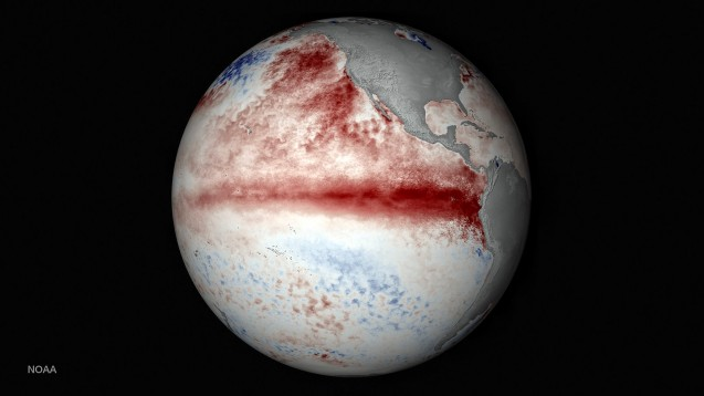 el niño global warming what's the connection