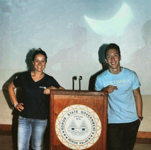 Isabel Ender, The Manta Trust and David Prieto, Columbia University