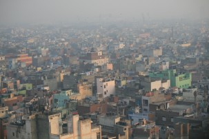Air pollution in South Delhi, India Photo: Jean-Etienne Minh-Duy Poirrier