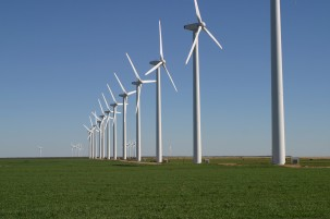 Green Mountain Wind Farm in Texas. Photo: Brazos Wind Farm