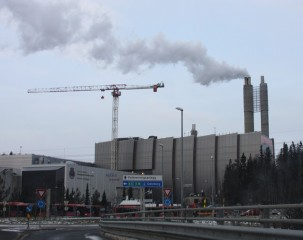 Klemetsrud Incinerator in Oslo, Norway. Image courtesy of Erlend Bjørtvedt / WikiMedia Commons