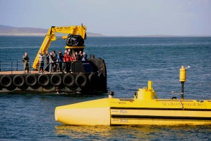A tidal turbine prototype Photo: Scottish Government