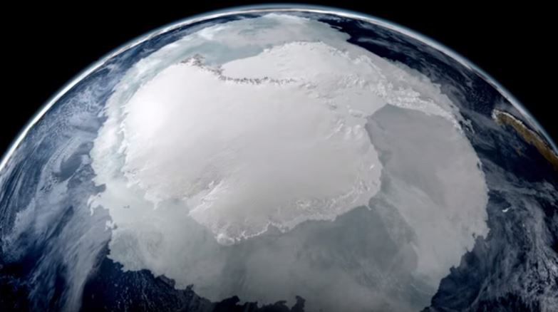 Antarctica viewed from space. Image: NASA