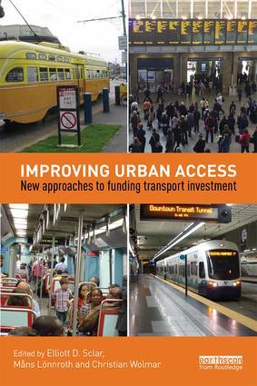 Sclar book improving urban access 9781138927056