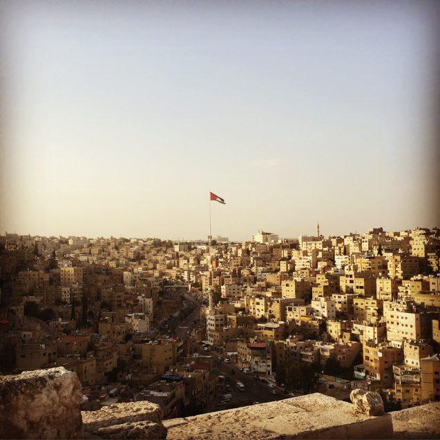 A view of Amman, Jordan. Photo: Josh Fisher
