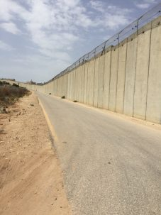 The Separation Barrier at Baqa Al Gharbiyye. Photo: Josh Fisher